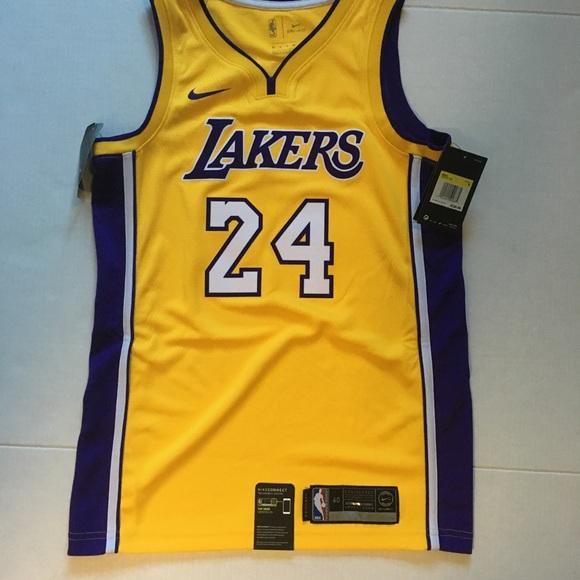 c1348ed7fad Nike Shirts | Los Angles Lakers Kobe Bryant Jersey 24 Nwt | Poshmark